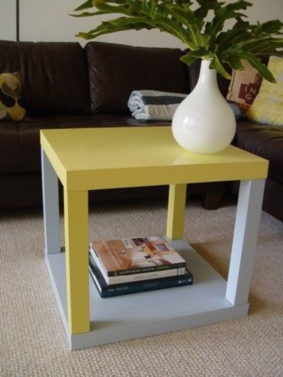 Tavolino Basso Ikea.Restyling Del Tavolino Ikea Lack 15 Idee Originali