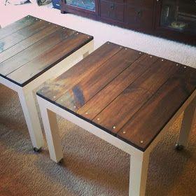 Tavolino Lack Bianco.Restyling Del Tavolino Ikea Lack 15 Idee Originali