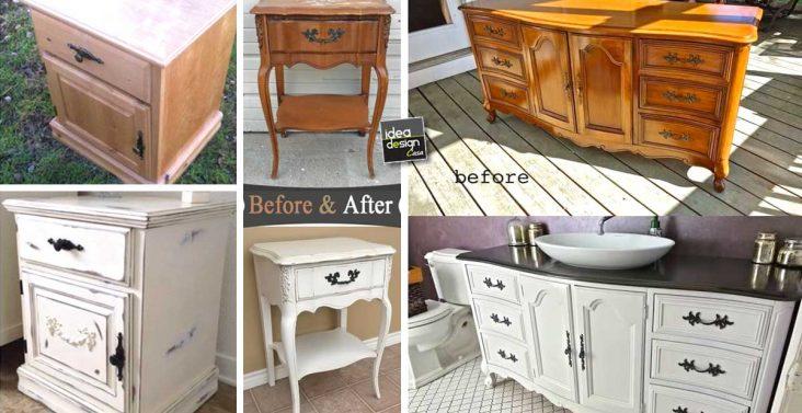 Abbinare legno nel salone 20 idee per arredare il salone - Arredare riciclando mobili ...