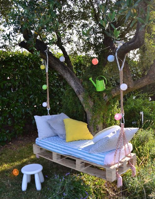 un angoletto relax in giardino
