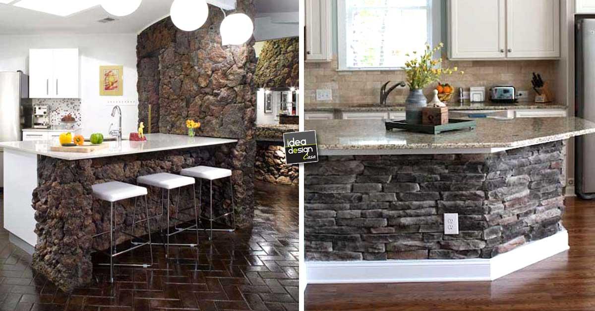 Decorazioni in pietra per la cucina! 20 idee stupende per ...