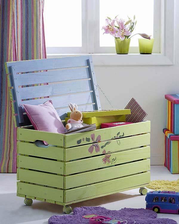 creazioni realizzati con bancali per bambini