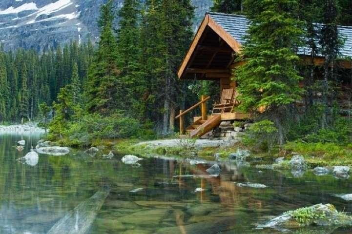 Una casa in legno un scelta di design durevole ed - Casa di legno abitabile ...