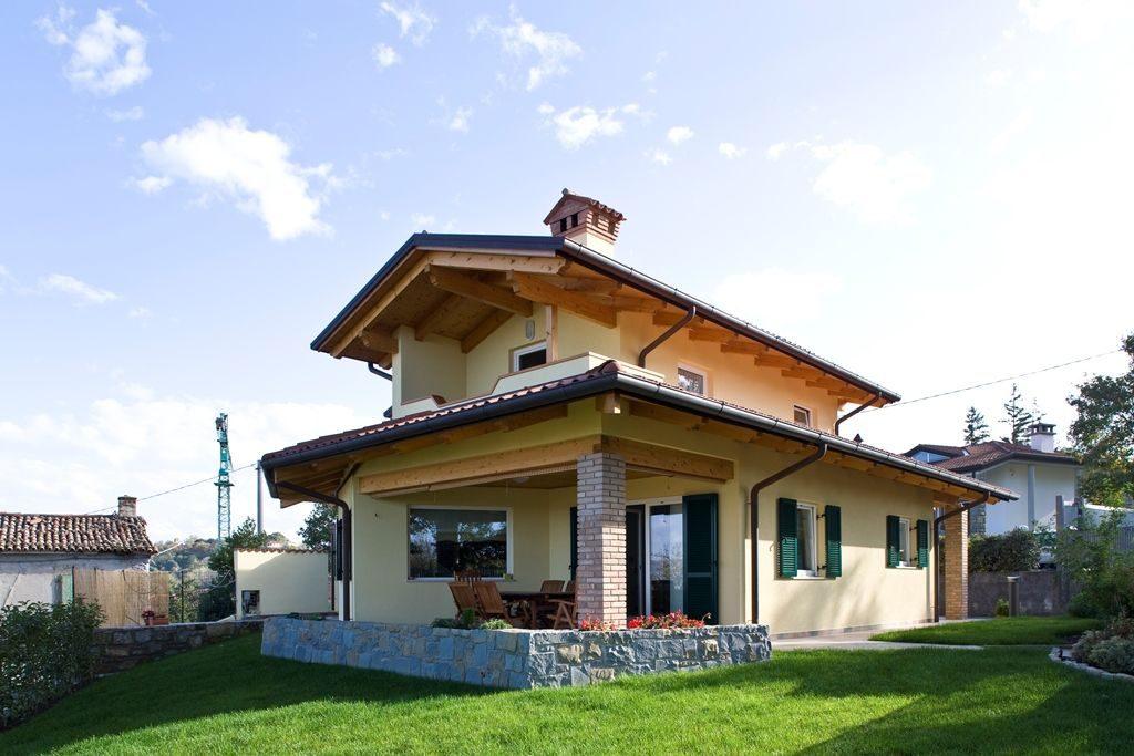 Una casa in legno un scelta di design durevole ed ecologica - Vivere in una casa di legno ...