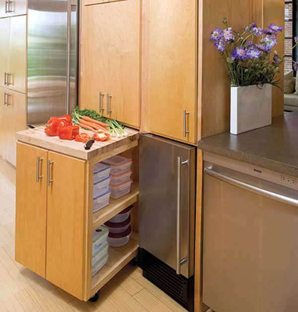 gain space in the kitchen 20 saving accessories for small