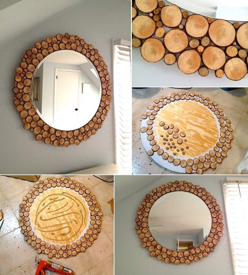Creazioni originali con rondelle di legno