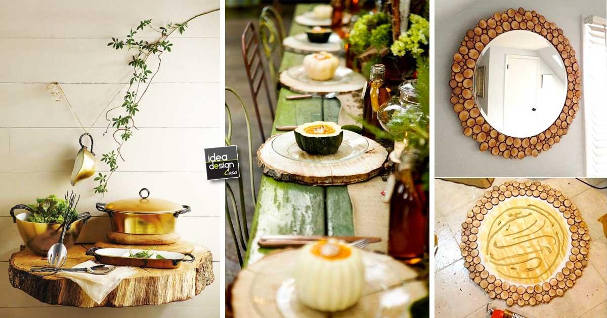 Creazioni originali con rondelle di legno 20 idee a cui for Creazioni casa fai da te