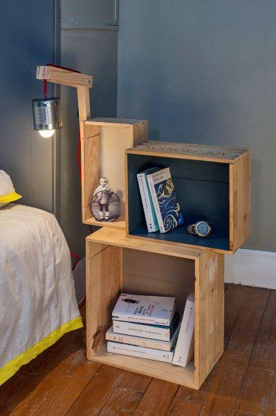 Arredare la camera da letto con le cassette di legno 20 for 12 piani casa di lusso camera da letto