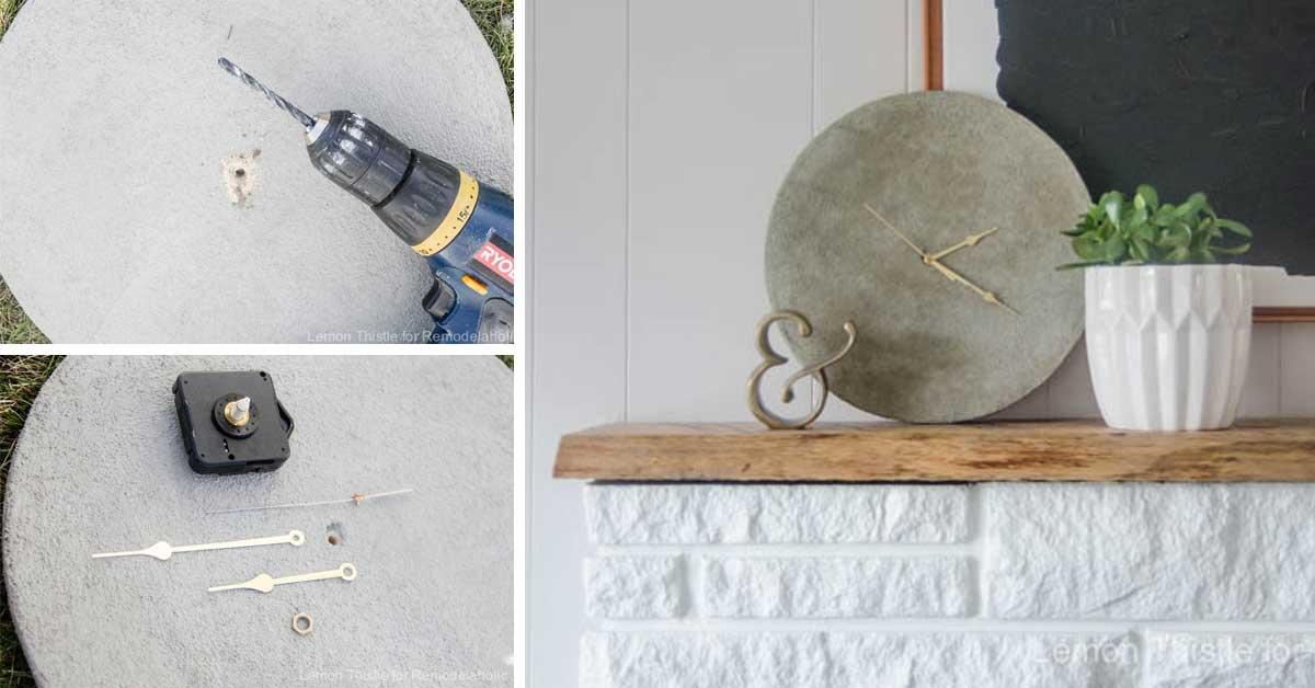 Lampada In Cemento Fai Da Te : Oggetti fai da te utilizzando il cemento bellissime idee