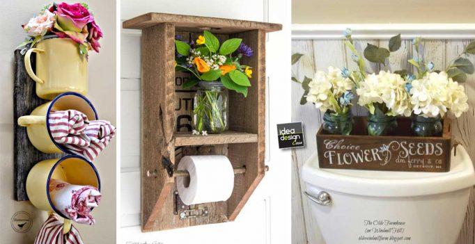Decorazioni fai da te molto carine per il bagno! 15 idee ...