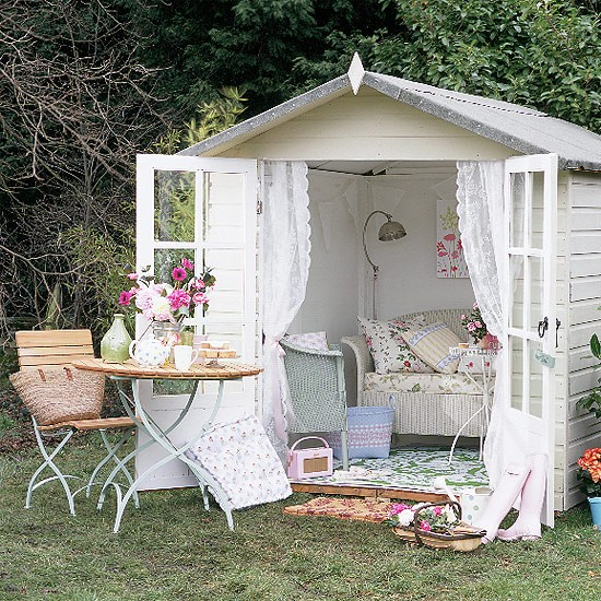 Garden Furniture Shabby Chic decorate the garden style shabby chic! 20 ideas to inspire you