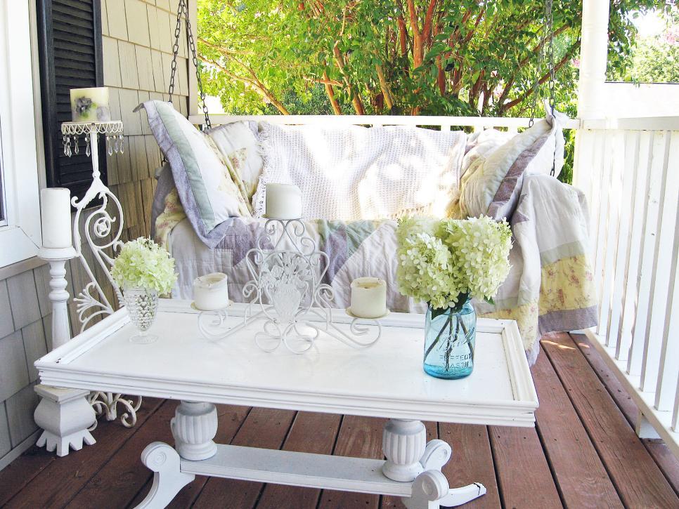 Shabby Chic Style Garden U2013 Decorating Idea # 3