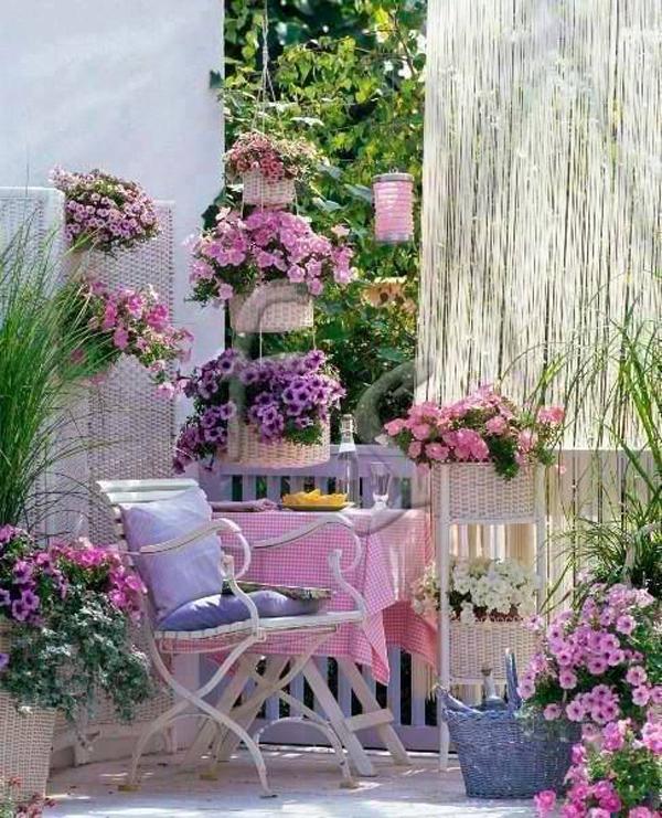Great Shabby Chic Style Garden U2013 Decorating Idea # 7