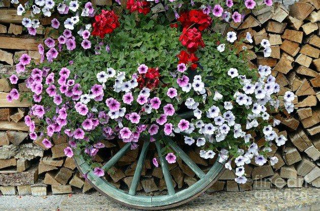 fai da te per decorare il giardino