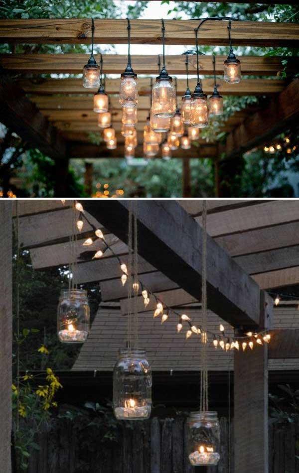 illuminare il giardino in modo creativo 20 idee lasciatevi ispirare. Black Bedroom Furniture Sets. Home Design Ideas