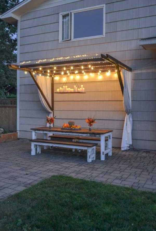Illuminare il giardino in modo creativo 20 idee - Idee per illuminare casa ...