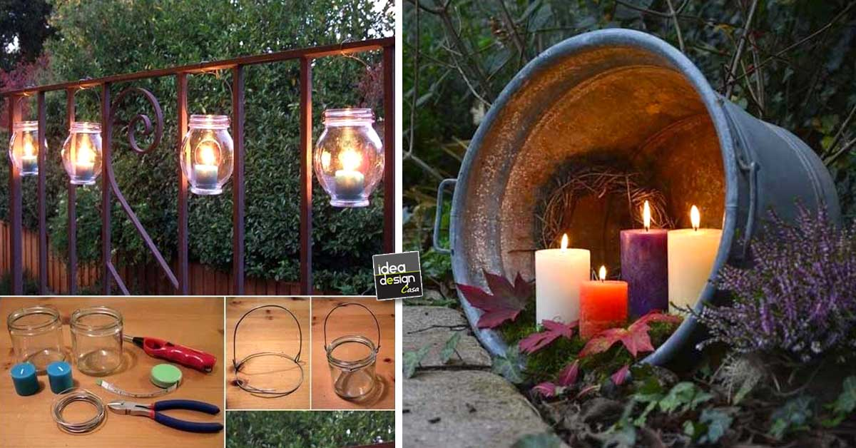 Illuminare il giardino in modo creativo 20 idee - Idee decorazioni giardino ...