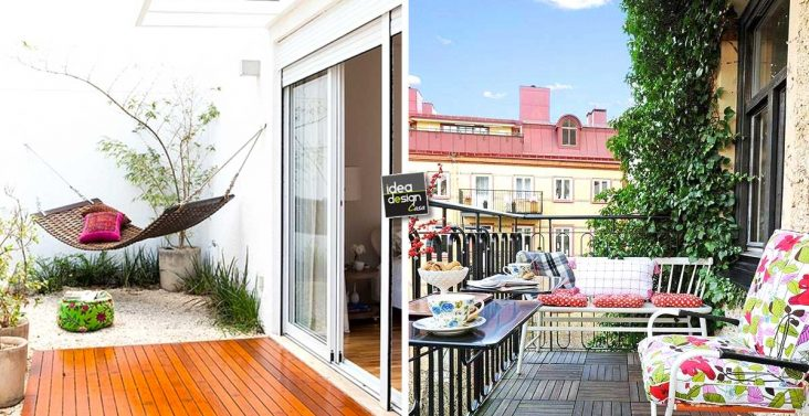 Idee creative per arredare casa su for Arredare il balcone