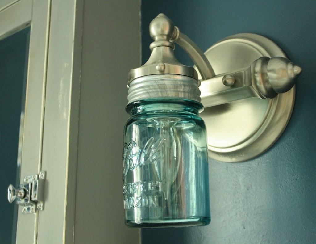Lampada Barattolo Vetro : Creare una lampada fai da te con i barattoli in vetro idee per