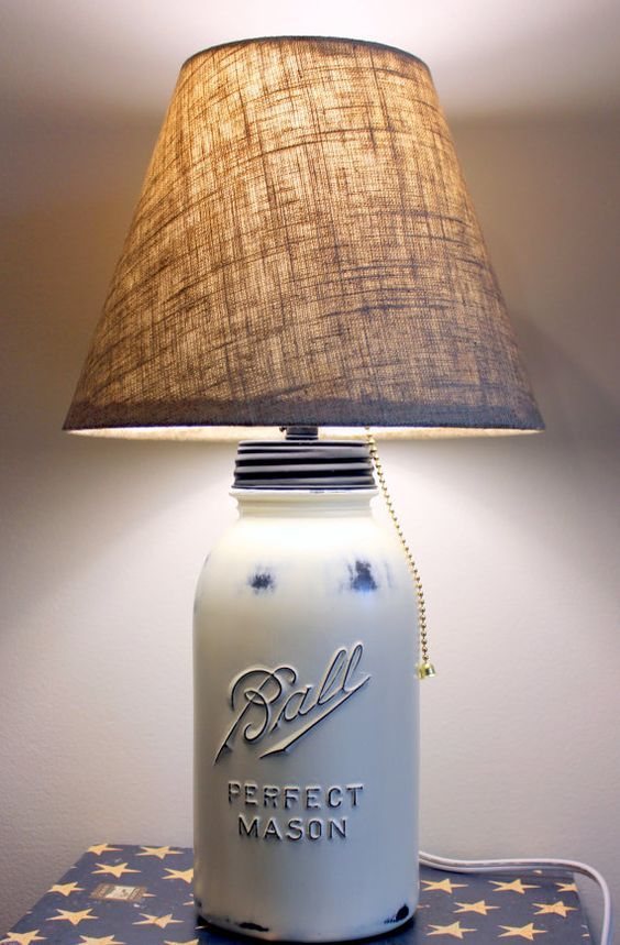 Creare una lampada fai da te con i barattoli in vetro 20 for Design casa fai da te