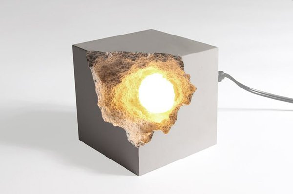 Lampada In Cemento Fai Da Te : Lampade design realizzate con il cemento più facile di