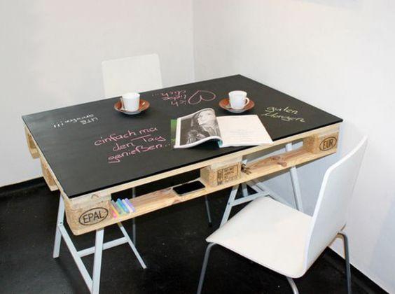 Restyling di oggetti con pittura effetto lavagna