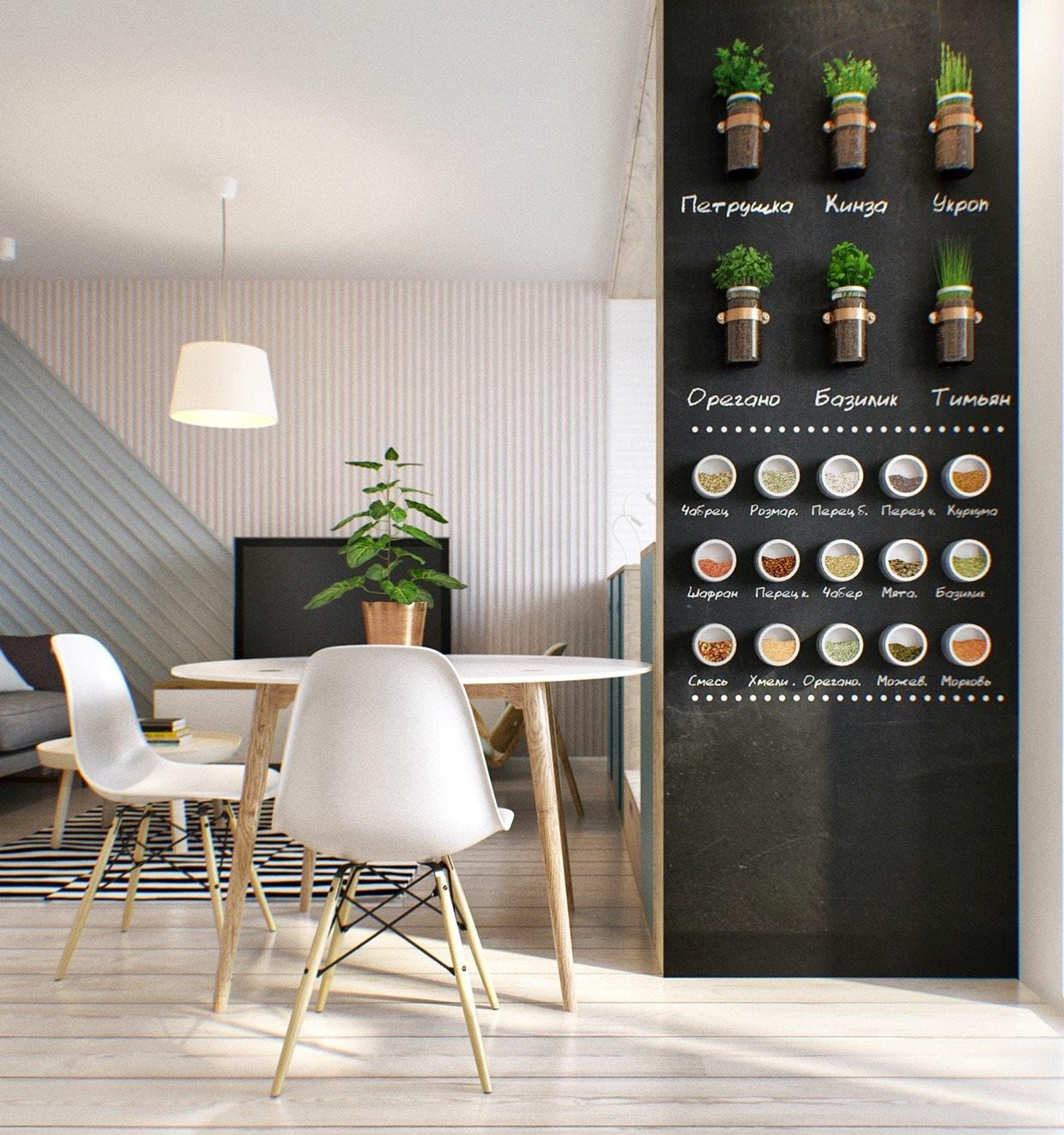 Estremamente Decorare una parete con la pittura effetto lavagna! 20 esempi a  MI42