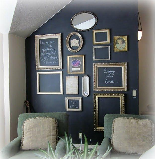 Famoso Decorare una parete con la pittura effetto lavagna! 20 esempi a  PX01