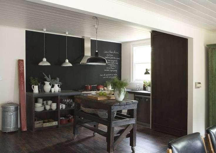 Top Decorare una parete con la pittura effetto lavagna! 20 esempi a  VI11