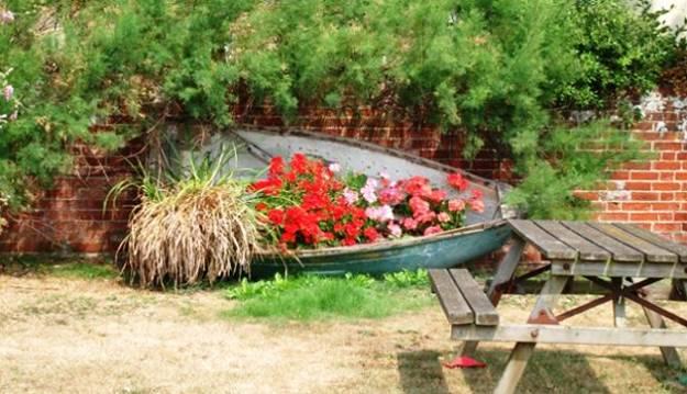 riciclare una vecchia barca