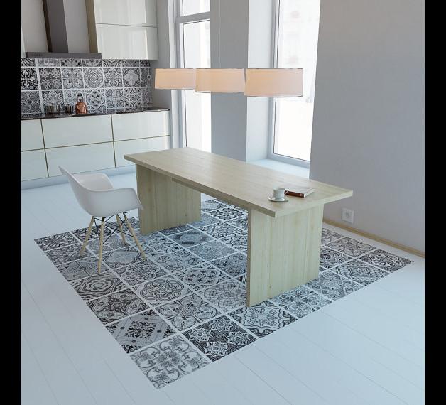 fliese auf fliese nachteile trendy den boden mit fliesen zu erneuern with fliese auf fliese. Black Bedroom Furniture Sets. Home Design Ideas
