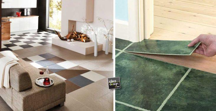 Idee creative per arredare casa su for Piastrelle adesive pvc per pareti