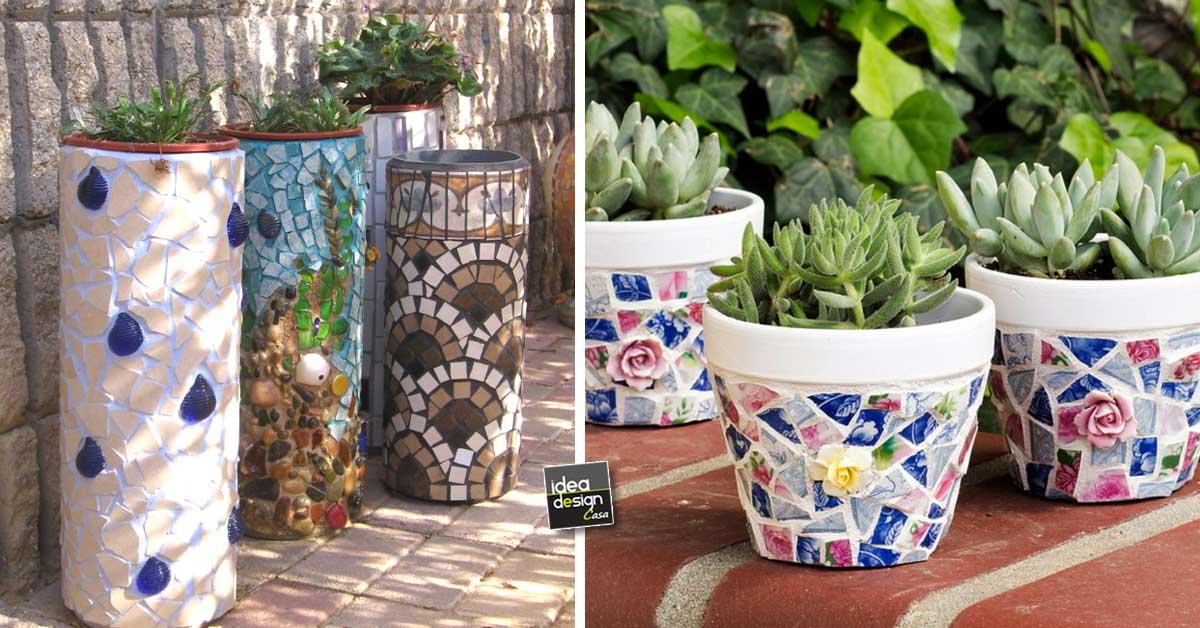 Decorazioni fai da te recuperando le ceramiche rotte 20 - Idee decoro casa ...