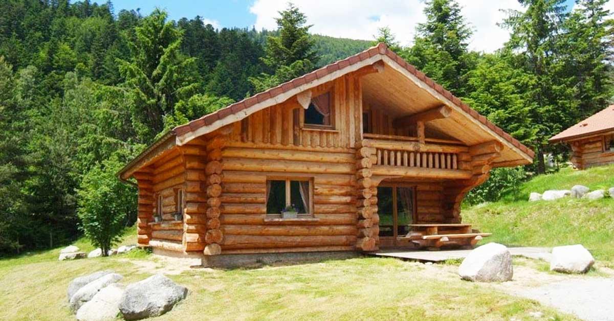 Una casa in legno un scelta di design durevole ed for Comprare una casa di legno
