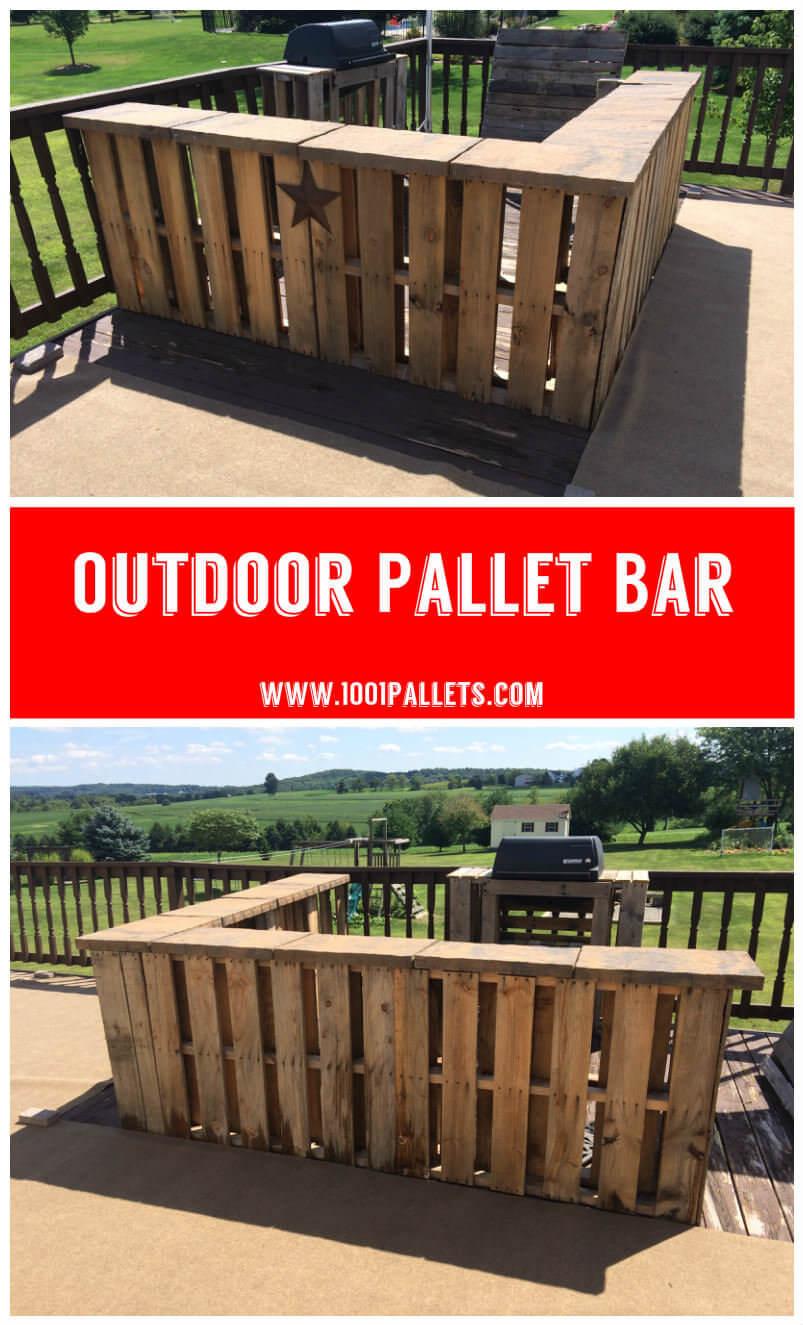 Make a DIY Mini bar for garden   Idea   2Garden DIY Mini Bar  20 ideas to see   Get inspired . Diy Bar. Home Design Ideas