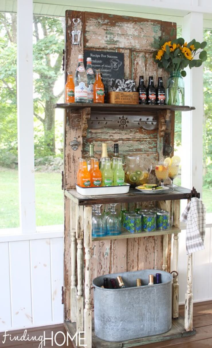 Make A DIY Mini Bar For Garden U2013 Idea # 3