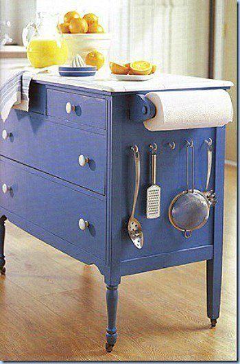 Restyling di vecchi mobili 20 esempi da vedere - Come abbellire un bagno vecchio ...