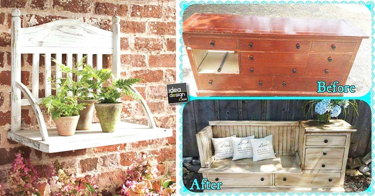 Restyling di vecchi mobili 20 esempi da vedere for Come trovare un costruttore di casa