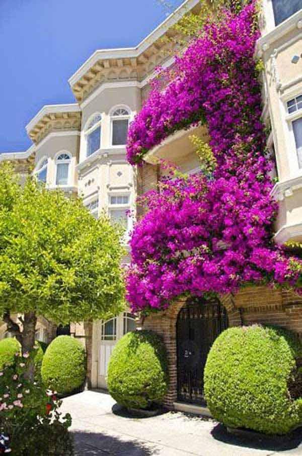 Estremamente Decorare il balcone con i fiori! 20 bellissimi esempi per ispirarvi HF69