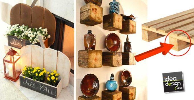 decorazioni fai da te in stile rustico per abbellire casa