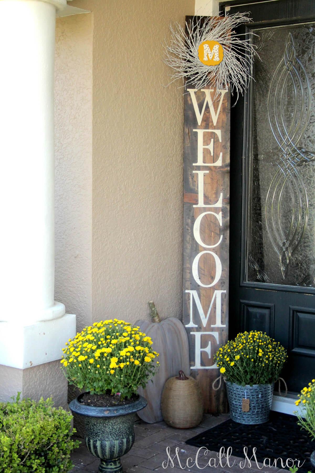 Decorare l 39 ingresso di casa con il fai da te ecco 20 idee creative - Decorare casa fai da te ...