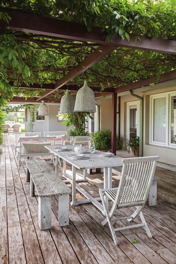Angolo Pranzo In Giardino Ecco 20 Bellissimi Esempi A Cui