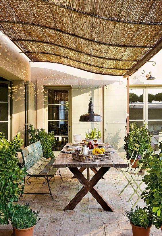 Angolo pranzo in giardino ecco 20 bellissimi esempi a cui for Idea giardino
