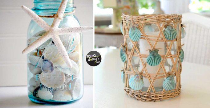 Fai da te con le conchiglie ecco 20 idee fai da te per abbellire casa - Idee per abbellire casa ...