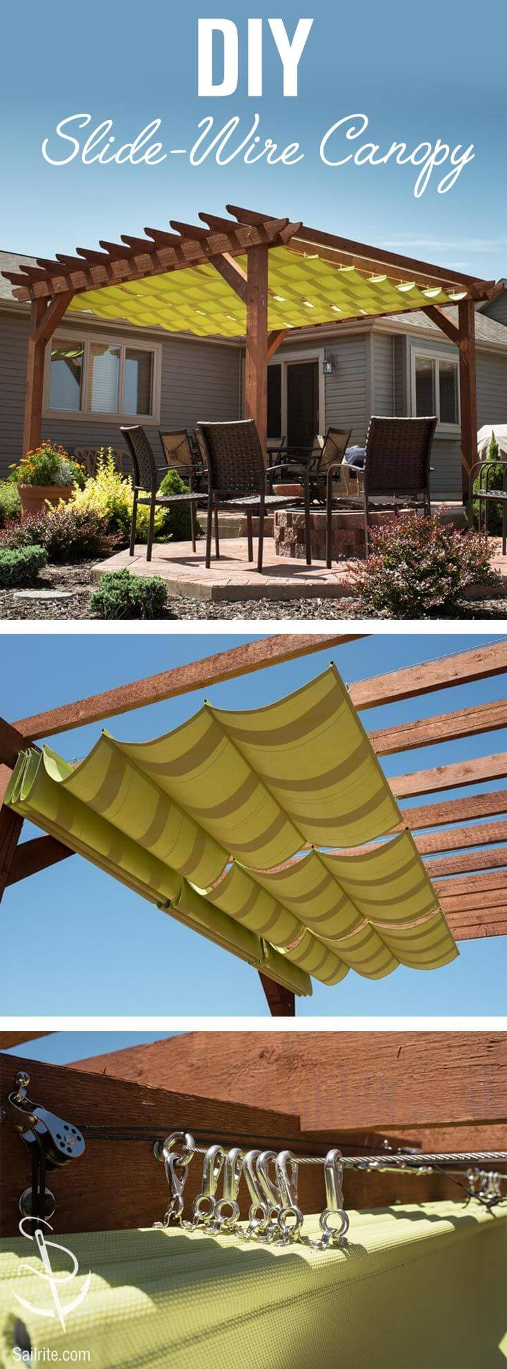Un po di ombra in giardino ecco 20 idee fai da te for Idea per giardino