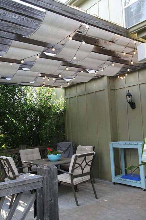Un po di ombra in giardino ecco 20 idee fai da te - Soluciones para terrazas ...