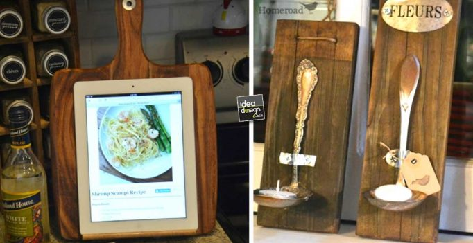 Riciclare i vecchi accessori della Cucina! 27 idee da vedere...