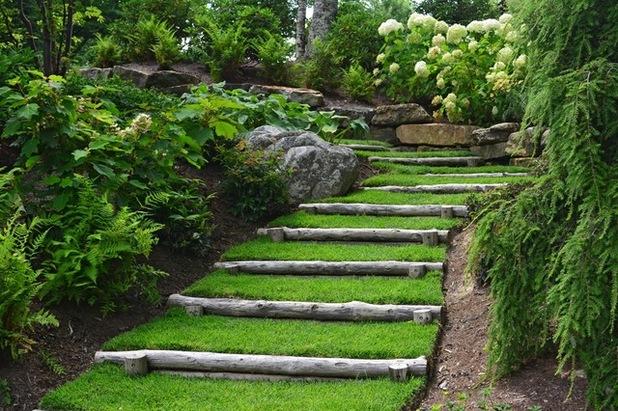 Realizzare scalini in giardino 20 soluzioni da vedere - Scale per giardini ...