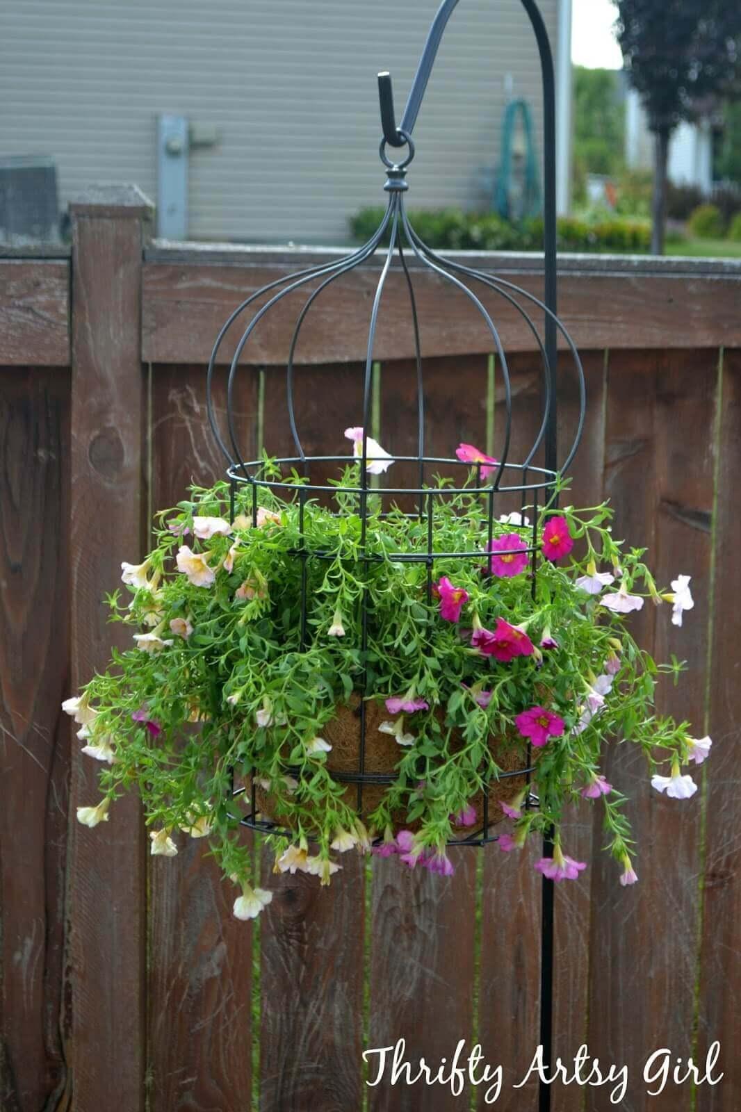 Piante sospese per decorare il giardino! Ecco 20 esempi a cui ispirarsi...