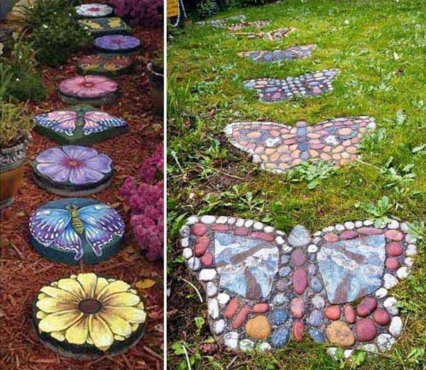 Decorate The Garden With Rocks And Stones U2013 Idea # 3